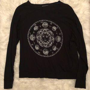 Black sun Brandy Melville long sleeve shirt